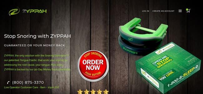 Homepage ZYPPAH