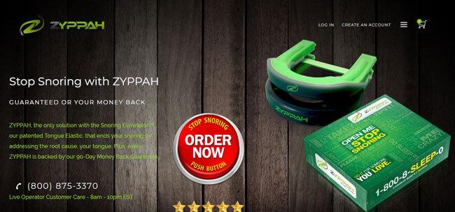 ZYPPAH homepage