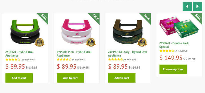 zyppah featured products