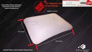 Celliant Anti-Snore Memory Foam Pillow