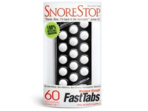 Snore Stop Maximum Strength Fast Tabs