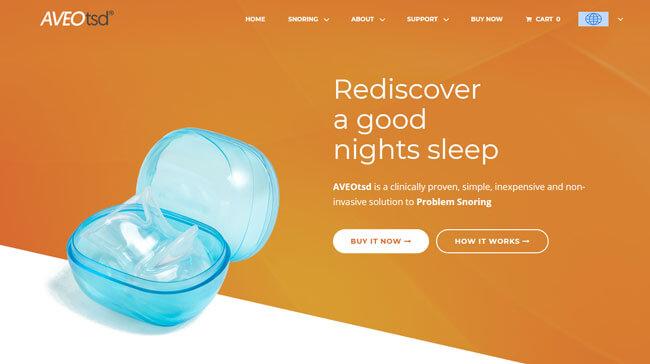 aveoTSD homepage