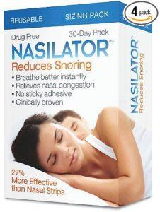 nasilator snoring