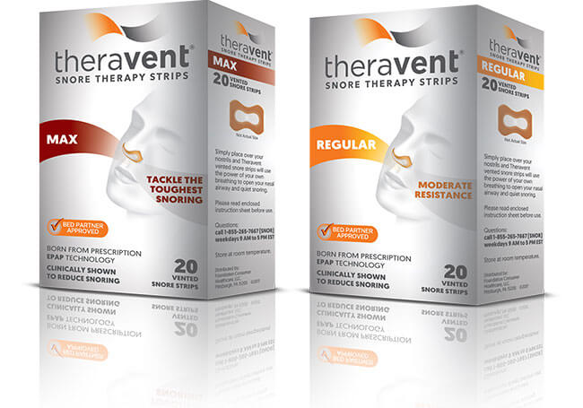 Theravent max and regular pack