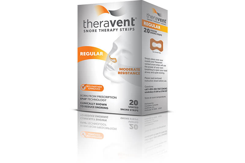 Theravent Pack on white background