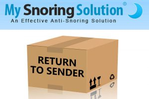 My Snoring Solution Return Policy
