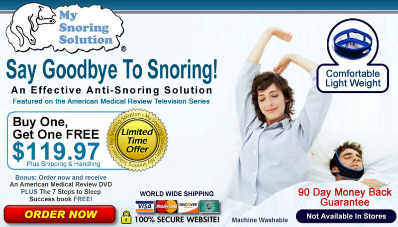 my snoring solution scam or not
