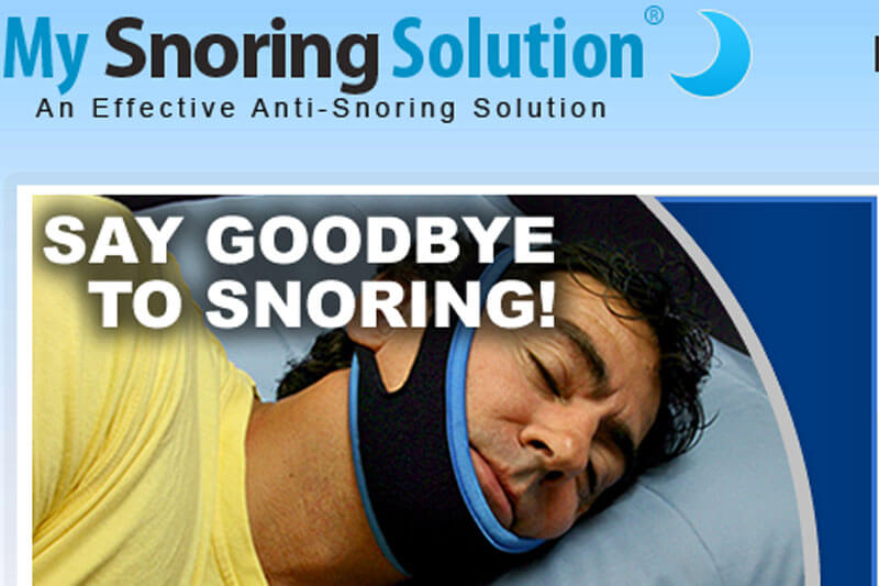 my snoring solution works