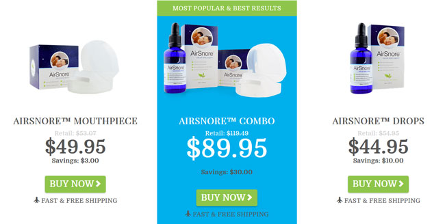 AirSnore price