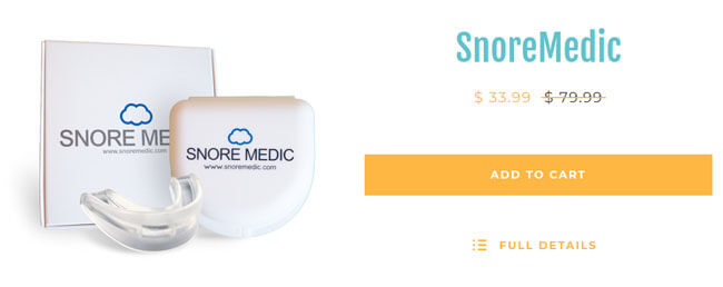 SnoreMedic prices