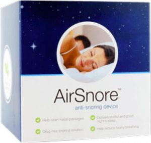 airsnore mouthpiece box